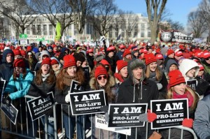 "Pope Francis tweeted on Jan. 22, 2014: """"I join the March for Life in Washington with my prayers. May God help us respect all life, especially the most vulnerable."""