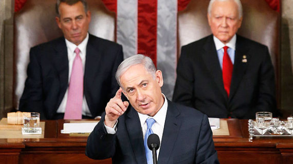 New leader of Free World: Netanyahu gives the speech an American president should have made
