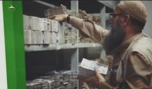 ISIL cash warehouse in Mosul.