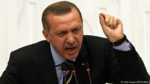 Turkish President Recep Tayyip Erdogan. /AFP/Getty Images