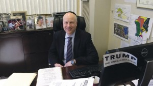 Jason Greenblatt of Teaneck, newly named as Donald Trump's Israel adviser, is also his top lawyer. /Photo by Uriel Hellman