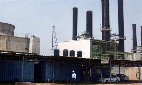 Gaza City power plant. /Abed Rahim Khatib/Flash 90
