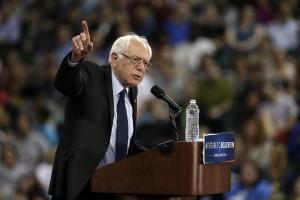 Democratic presidential candidate Sen. Bernie Sanders. /AP