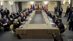 P5+1 nuclear talks in Lausanne, Switzerland in March 2015. /Reuters