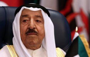 Emir of Kuwait Sheikh Sabah al-Ahmad al-Jaber al-Sabah has been on thr throne since 2006. /AFP/Yasser Al-Zayyat