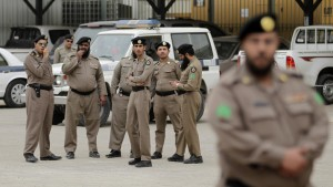 Saudi police in the western city of Taif. /AP