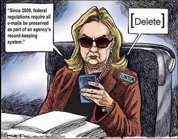 Memo from U.S. intelligence veterans: Clinton emails 'a concern' – 'also a felony'
