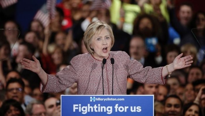 Hillary gives speech on inequality in a $12,000 Armani jacket
