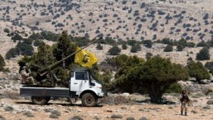Hizbullah fighters in Syria in May 2015. /Reuters