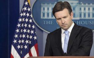 White House spokesman Josh Earnest. /AP