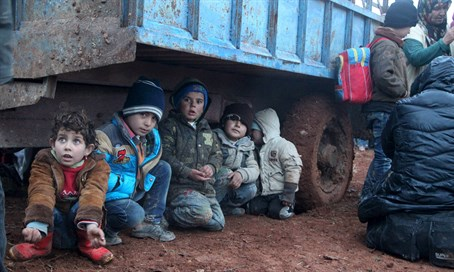Reports: Turkish forces killed refugees (including children) fleeing from ISIL areas of Syria