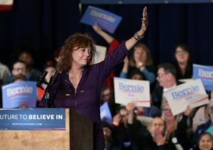 "Susan Sarandon: Hillary Clinton has ""done horrible things . . . and nobody calls her on it."" /AP"