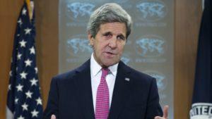 Secretary of State John Kerry. /AP