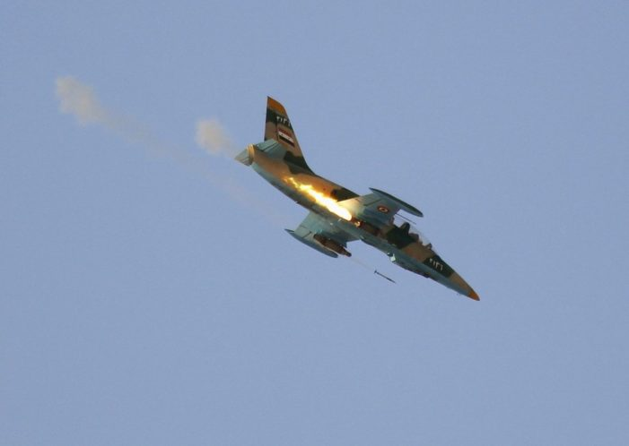 Airstrikes by Russia and Syrian regime kill 58 civilians near ISIL-held Deir Ezzor