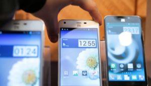 ZTE smart phones.