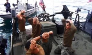 Iran detained 10 U.S. sailors in January.