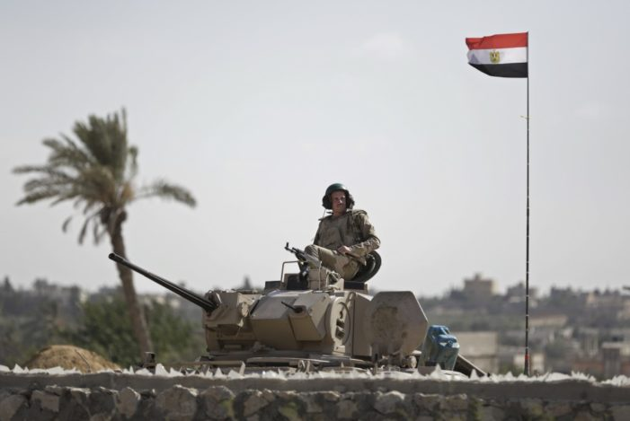Egypt security forces use night vision tech to kill 35 jihadists in N. Sinai