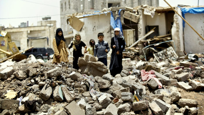 Never mind? 'Scale of suffering for millions in Yemen is staggering'