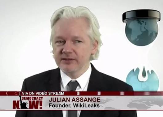 WikiLeaks founder: 'If you act in corrupt ways that benefit Hillary Clinton', she'll take care of you