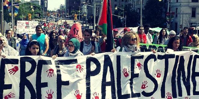 NYU Palestinian group blames Israel for shootings of black men by American cops