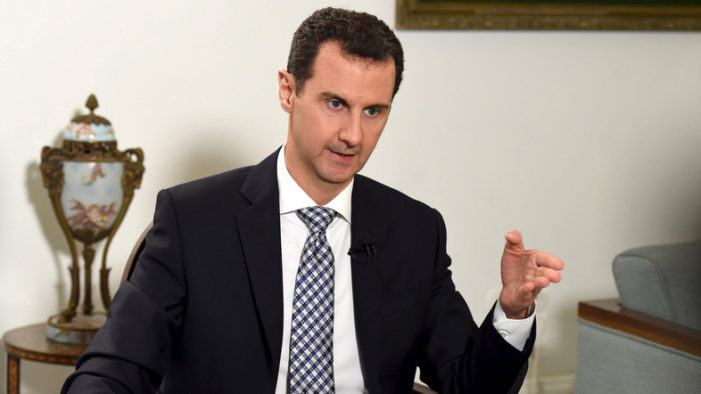Syria's Assad in interview claims secret coordination with U.S., hits 'double standard'