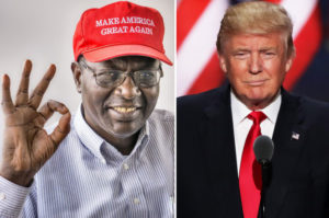 President Obama's brother, Malik Obama, says he plans to vote for Donald Trump in November. /Getty Images
