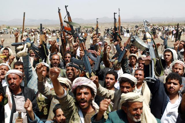 Houthi rocket hits residential area of Yemen, kills 7 children