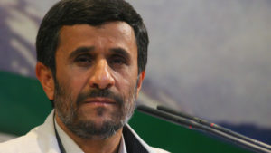 Mahmoud Ahmadinejad has re-emerged on Iran's political landscape.