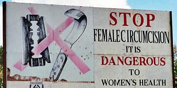 Female circumcision is now a felony in Egypt