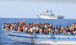 Some 30,000 migrants have crossed the Mediterranean from Libya to Italy this year.