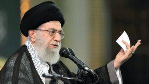 Iranian supreme leader Ayatollah Ali Khamenei. /AP