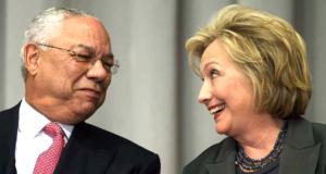 Colin Powell and Hillary Clinton...