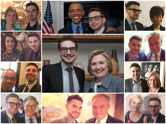 Is Daddy's cash or Alex Soros' charisma the reason for all those selfies with top Democrats?