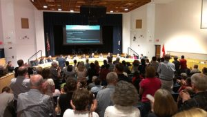The Fairfax County (Virginia) School Board voted 10-1 vote in favor of adding gender identity to the district's nondiscrimination policy. / Tim Peterson