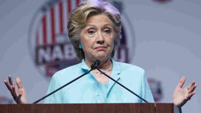 Clinton strategy after devastating 'State-for-sale' expose? 'Run out the clock'