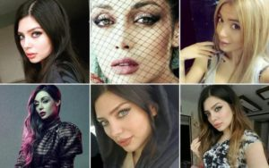 Iran women posing without hijab on social media are subject to arrest.