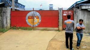 Guards inspect the Lanao del Sur prison a day after heavily armed members of the Maute group raided the jail and sprang eight comrades. Fifteen other detainees escaped. RICHEL UMEL/INQUIRER MINDANAO