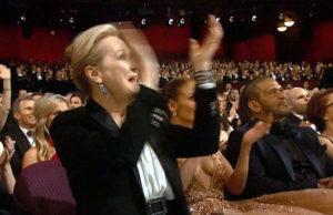 Actress Meryl Streep.