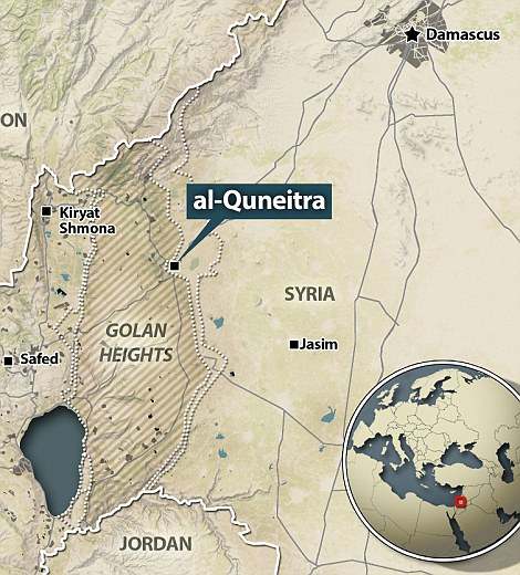 Quneitra – World Tribune: Window on the Real World