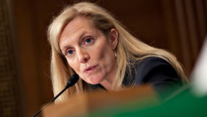 Lael Brainard. /Getty Images