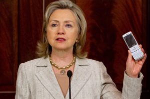 Secretary of State Hillary Clinton in 2010. /Getty Images