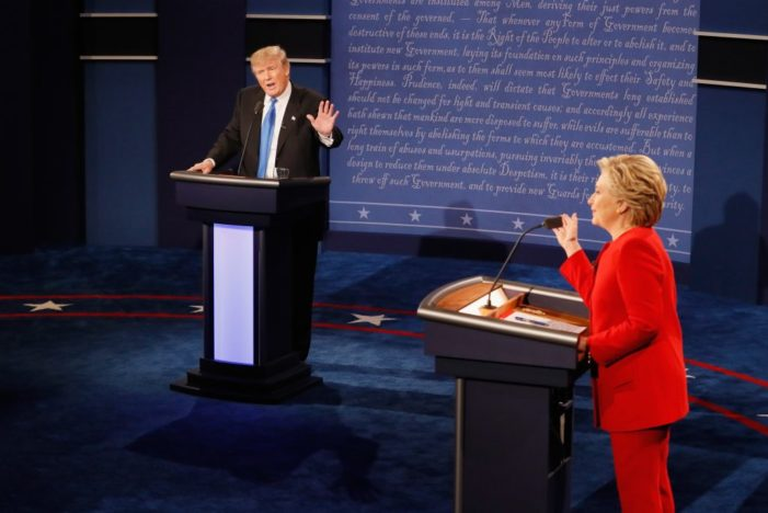 Who won the debate? Take your pick from a menu of instant polls