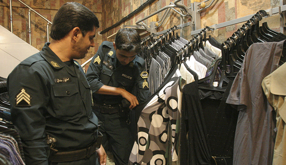 Iranian police close 800 stores for selling 'inappropriate' clothing