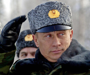 'Iin just a couple weeks Vladimir Putin will turn 64, the same age that Leonid Brezhnev was in 1970 as the Soviet Union was about to enter a decade of economic stagnation, intensified political repression, and escalated foreign aggression.' /AFP/Getty Images
