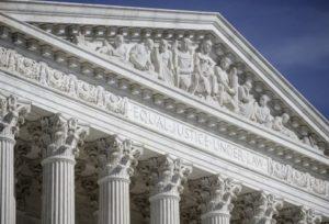 U.S. Supreme Court building. /AP