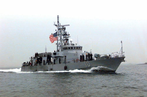 U.S. Navy ship again swarmed in Gulf by Iran's IRGCN, under orders to act 'boldly'