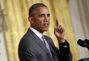 President Barack Obama to black Americans: 'Give me a good sendoff' and vote for Hillary Clinton. /AP