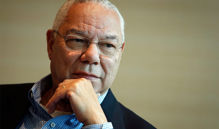 Colin Powell email: 'Boys in Teheran' know Israel has 200 nukes and 'we have thousands'