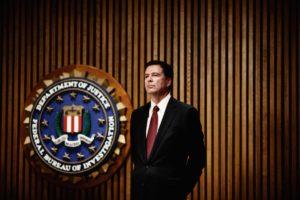 FBI Director James Comey. /Melissa Golden/Redux