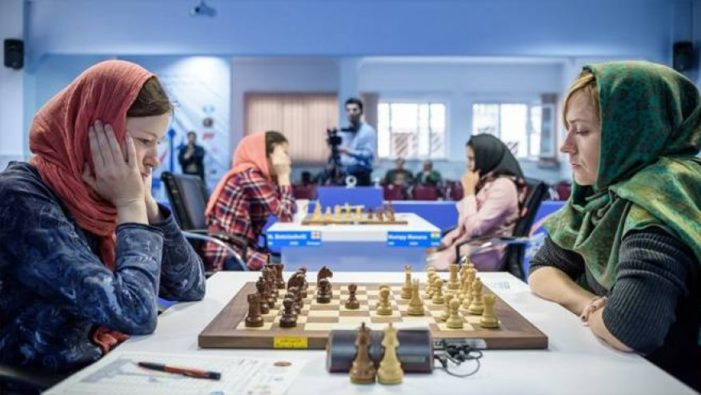 Females chess players told to wear hijabs or else at 2017 world championships in Iran